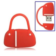 Handtas stijl USB Flash-schijf  4GB(Red)