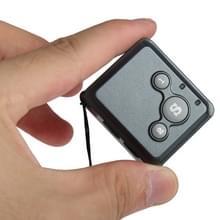 RF-V16 real-time GSM Mini GPS Tracker GPRS Tracking SOS Communicator met horloge Wristband(Black)