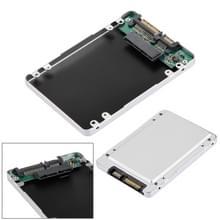 HD2590-SMR 1.8 inch Micro SATA HDD / SSD naar 2.5 inch SATA harde schijf Caddy Adapter (zwart)