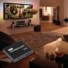 Full HD 1080P HDMI MultiMedia HDD player with SD/MMC Card & USB Slot  Support External Removable Hard Disk Storage(Black)