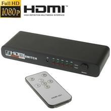 Full HD 1080P 5 Poorten HDMI Switch met Afstandbediening & LED Indicator