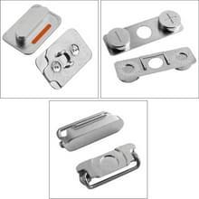De sleutel van het Volume van de oorspronkelijke Mute schakelaar knop-toets + Lock knop schakelaar toets ON / OFF voor iPhone 4S