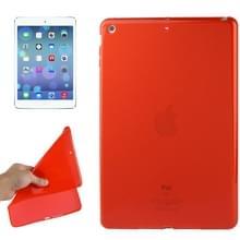Glad oppervlak TPU beschermhoes voor iPad Air (rood)