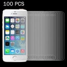 100 stuks voor iPhone SE & 5 & 5S & 5C 0 26 mm 9H oppervlakte hardheid 2.5D explosieveilige getemperd glas Film