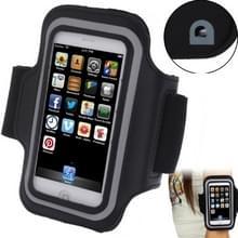 Sport Armband hoes met oortelefoon gat voor iPhone 5 & 5 C & 5S(Black)