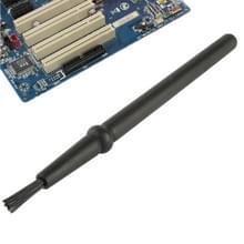 Elektronische Component ronde handvat antistatisch Reinigingsborsteltje  lengte: 14cm(Black)
