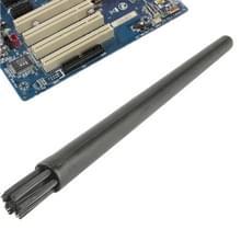 Elektronische Component 7 Beam ronde greep antistatische schoonmaak borstel  lengte: 12.2cm(Black)