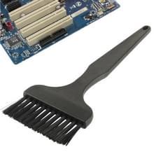 Elektronische Component 12 Beam plat handvat antistatische schoonmaak borstel  lengte: 17cm(Black)