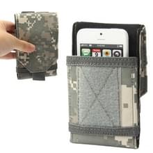 Camouflage leger Combat Utility Velcro gordel Pouch Bum reistas mobiele telefoon geld