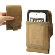Leger Combat Utility Velcro gordel Pouch Bum reistas mobiele telefoon geld (de kleur van de koffie)