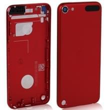 Metalen vervanging back cover / achterpaneel voor iPod touch 5 (rood)