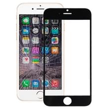 Voorste scherm buitenste glaslens voor iPhone 6(Black)