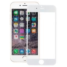 Voorste scherm buitenste glaslens voor iPhone 6(White)