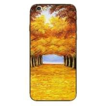 iPhone 6 & 6S Bomen laan patroon beschermende stickers