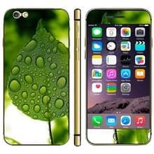 iPhone 6 & 6S Dauwdruppel en blad patroon beschermende stickers