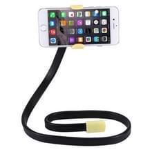 Flexibele clip mount houder met klem basis  voor iPhone  Galaxy  Huawei  Xiaomi  LG  HTC en andere smartphones (geel)