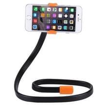 Flexibele clip mount houder met klem basis  voor iPhone  Galaxy  Huawei  Xiaomi  LG  HTC en andere smartphones (Orange)