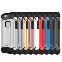 Voor iPhone 6 & 6s harde Armor TPU + PC combinatie Case(Coffee)