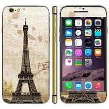 iPhone 6 Plus & 6S Plus Eiffeltoren patroon beschermende stickers