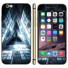 iPhone 6 Plus & 6S Plus 3D driehoek patroon beschermende stickers
