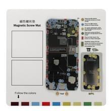 Magnetische schroeven Mat voor iPhone 6 Plus  grootte: 26 x 25 cm
