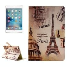 Eiffel toren patroon horizontale Flip lederen draagtas met houder voor iPad Pro 12 9 inch