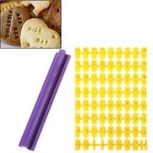 Biscuit taart Fondant versieren brief Impress DIY schimmel Tools Set