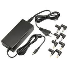 90W universeel AC Power Adapter Lader voor Laptop Notebook voldaan acht Connectors(zwart)