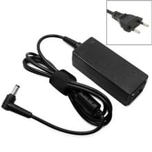 EU stekker AC Adapter 20V 2A 40W voor Lenovo Notebook  Output Tips: 5.5x2.5mm