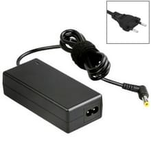 EU Plug AC Adapter 19V 4.74A 90W for Asus Notebook  Output Tips: 5.5x2.5mm(Black)