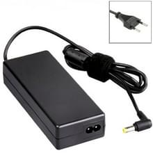 EU stekker 19V 4.74A 90W wisselstroomadapter voor Toshiba Notebook  Output Tips: 5.5 x 2.5 mm