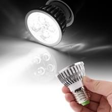 E27 4W 440LM Spotlight gloeilamp  4 LED  wit licht  6000K  AC 85-265V