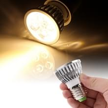 E27 4W 440LM Spotlight Lamp lamp  4 LED  Warm wit licht  3000 K  AC 85-265V