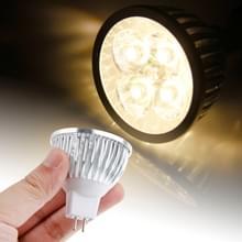 MR16 4W LED Spotlight gloeilamp  4 LED  energiebesparing  Warm wit licht  AC / DC 12V