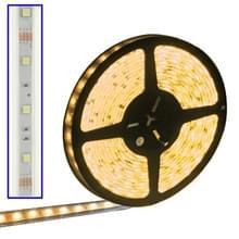Behuizing waterdicht touw licht  lengte: 5m  geel licht 5050 SMD LED  30 LED/m