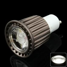 GU10 7W Spotlight gloeilamp  1 COB LED  wit licht  AC 85-265V