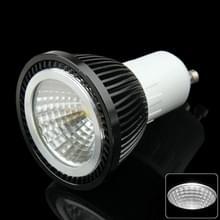 GU10 5W Spotlight gloeilamp  1 COB LED  wit licht  AC 85-265V