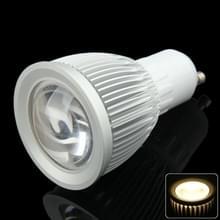 GU10 7W Spotlight gloeilamp  1 COB LED  Warm wit licht  AC 85-265V