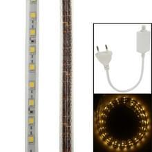 Behuizing waterdicht Rope Light  lengte: 1m  Warm wit licht met Controller  60LED/m  AC 220V