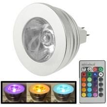 MR16 5W RGB LED gloeilamp  lichtstroom: 400-450LM  met afstandsbediening  DC 12V