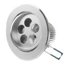 5W LED dagen lantaarns delen (Cover delen + Aluminium grondplaat Base + LED Lens + aluminium koellichaam + schroeven)