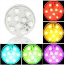 Multi Color gloeilamp  9 geleid  13 kleuren licht  met externe Control(White)