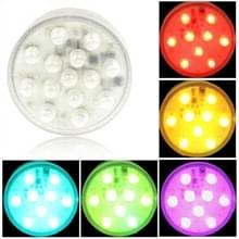 14 leidde Multi kleur licht met externe Control(Silver)