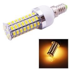 E14 6.0W 520LM maïs lamp  72 LED SMD 5730  Warm wit licht  AC 220V