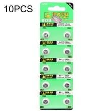 10 stuks AG11 / 362A 1.55V Alkaline knoopcelbatterij