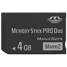MARK2 4GB snelle Memory Stick Pro Duo (100% echte capaciteit)