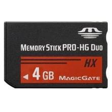 4GB Memory Stick Pro Duo HX geheugenkaart - 30MB/seconde hoge snelheid  voor gebruik met de PlayStation Portable (100% echte capaciteit)