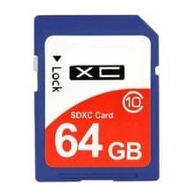 64GB geheugen van de Camera van de High Speed Class 10 SDHC-kaart (100% echte capaciteit)