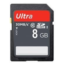 8GB Ultra High Speed Class 10 SDHC Camera geheugenkaart (100% echte capaciteit)