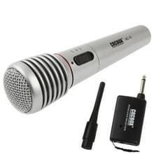 Handheld draadloze / Kabelgebonden microfoon met de ontvanger & antenne  effectieve afstand: 15-30m